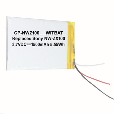 Sony Walkman NW-ZX100,NW-ZX300 Battery LIS1650
